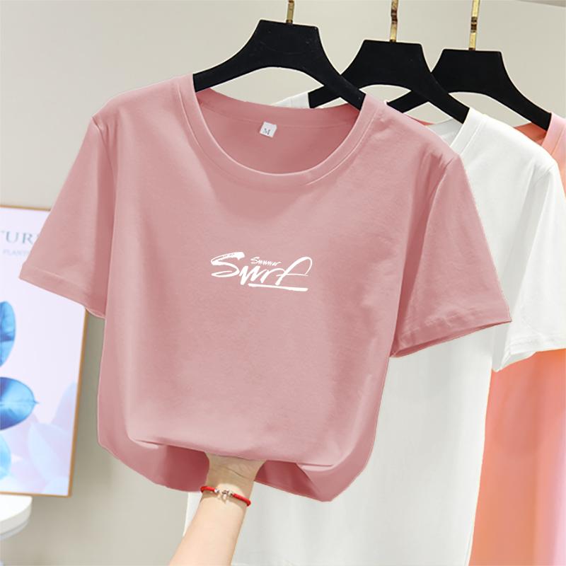 短袖t恤夏装2020新款网红潮打底衫