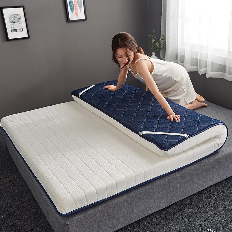 床垫天然乳胶软垫加厚单人宿舍褥子家用床垫子记忆棉榻榻米海绵垫,可领取10元天猫优惠券