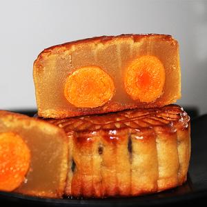 香港傳統蛋黃月餅雙黃白蓮蓉散裝廣式多口味廣東老式五仁中秋節大