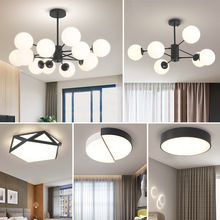 Droplight Living Room Lighting 2019 New Nordic Lighting Package Modern Simple Bedroom Restaurant Lighting Creative Individuality