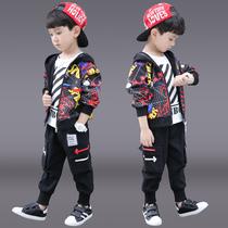 童装男童春装套装2020新款儿童洋气中大童春秋韩版男孩帅气春款潮