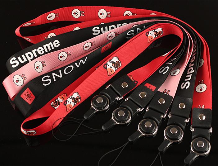 Мобильный телефон шнур ткань висит веревка сын привел съемный вращение шнур шея веревка корпус телефона стропы плоский ширина веревка