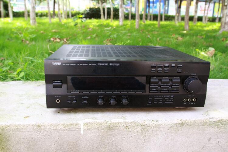 458.00元包邮二手原装雅马哈YAMAHA RX-V592 5.1声家用音响音箱功放机手机音频
