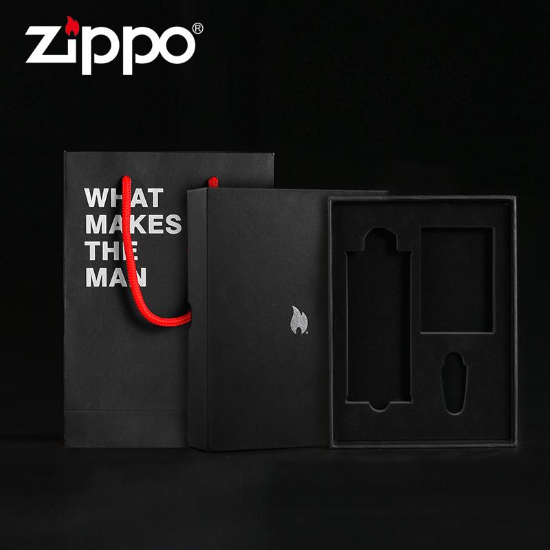 В оригинальной упаковке оригинал Подарочная коробка для принадлежностей ZIPPO Zippo Lighter в подарок Церемония с【 без Масло и кремень】