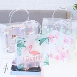文艺小清新礼品袋手提袋pp塑料韩版创意礼物可爱独角兽购物包装袋
