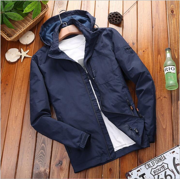 Charge fast dry mens youth Outdoor Jacket mens sports large leisure medium long winter waterproof windproof jacket