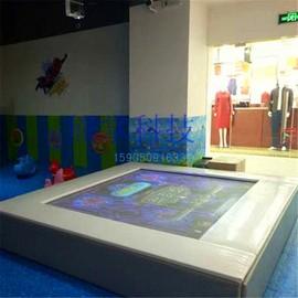 定制淘气堡蹦床弹力布互动投影AR体感室内游戏机儿童项目游乐设备图片