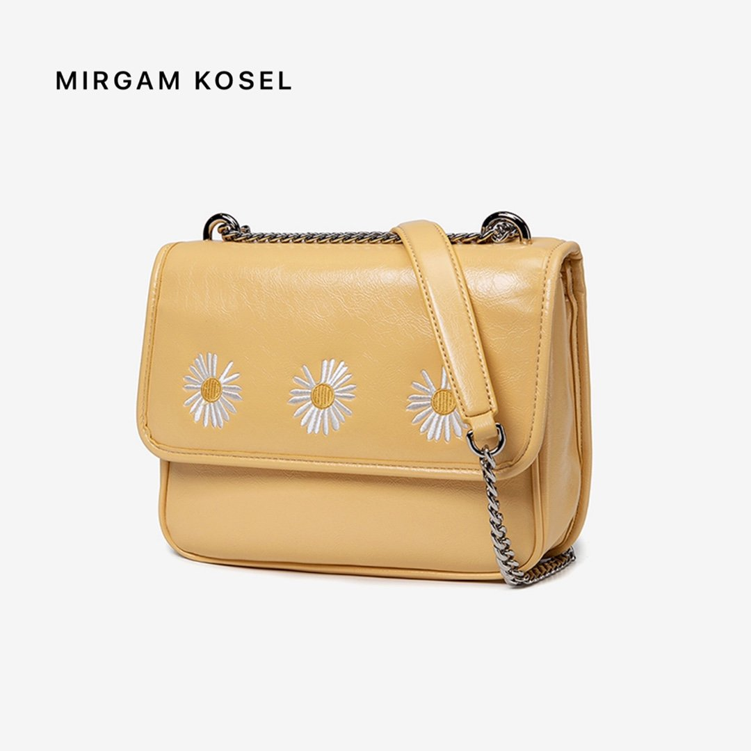 Mirgam kosel official website authentic small MK womens bag Daisy straddle bag chain Niki