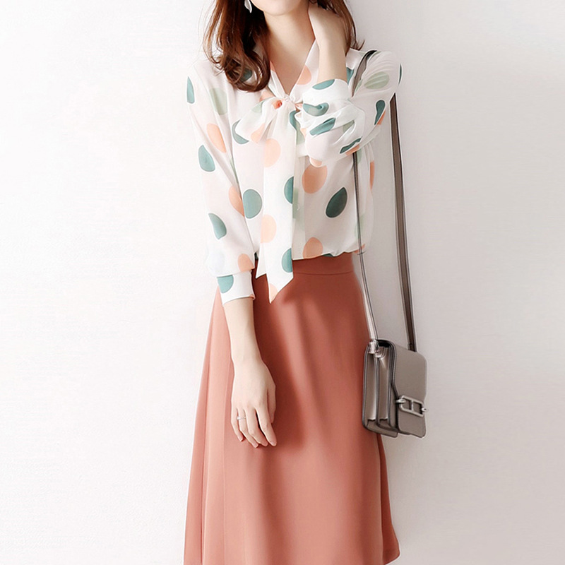 Elegant and soft carrot color contrast buckle wrap A-line skirt with high waist and knee length skirt