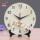 承沁陶瓷钟表创意时钟客厅静音挂钟座钟两用古典玉兰中式台钟摆件 mini 0