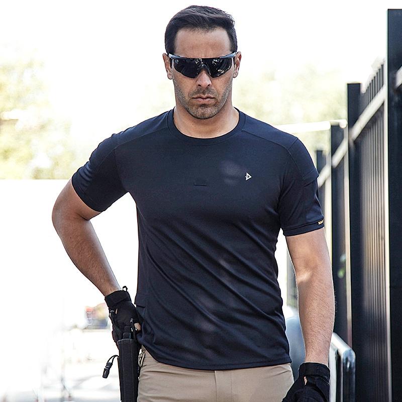 龙牙五代B2级短袖圆领衫战术t恤男户外速干t恤衫军迷夏季铁血君品