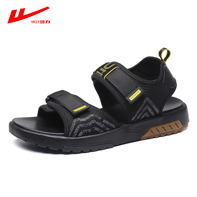 Reline sandals men's shoes summer new tide men's sandals outside wearing two-purpose sports non-slip casual beach shoes