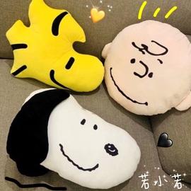 包邮】日本卡通狗狗男孩可爱公仔抱枕汽车靠垫汽车少女心家居玩偶图片