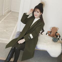 冬季新款韩版毛呢大衣
