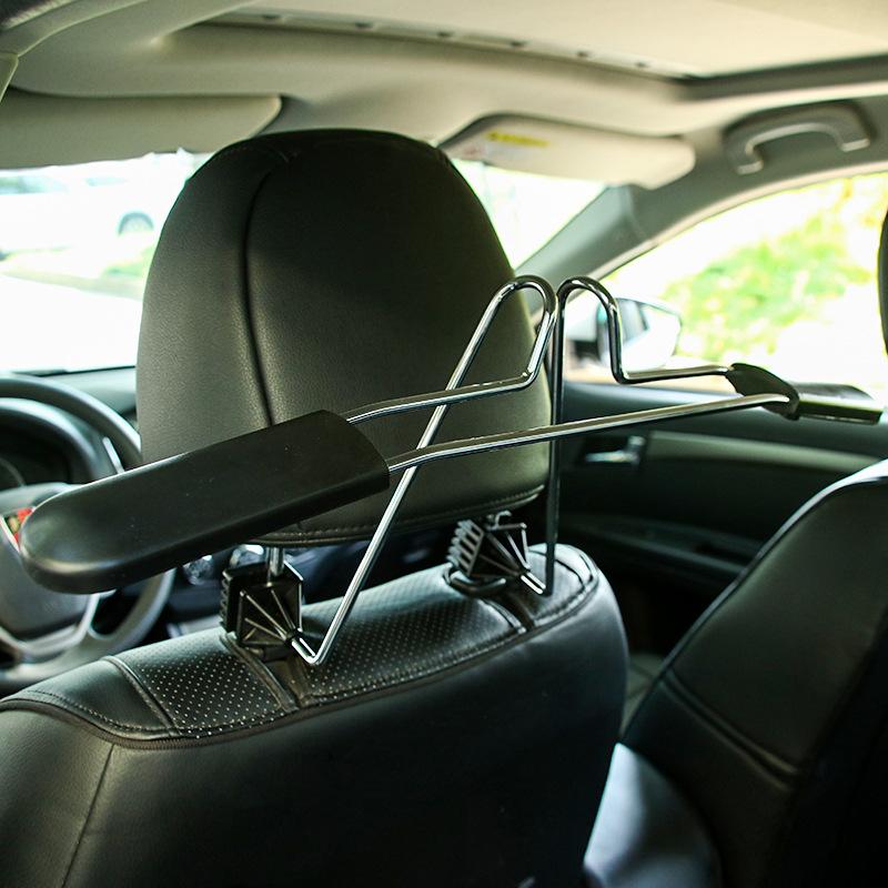 Многофункциональная вешалка для автомобилей высококачественный Задняя подвеска металлический Автомобильная стойка с подставкой для одежды бесплатная доставка по китаю