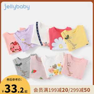 女童夏1岁童装儿童短袖婴儿t恤