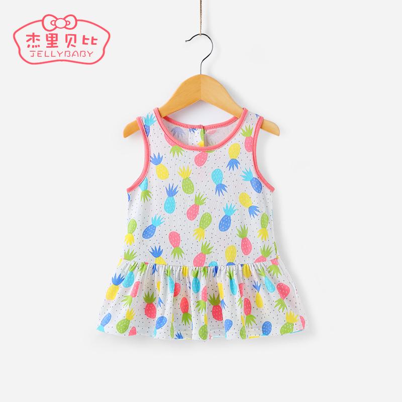 兒童 女寶寶吊帶裙
