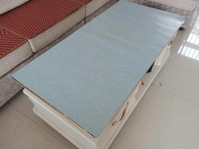 胶彩色印花软质玻璃/半透明/磨砂/压花水晶板防水印桌布图案90*12