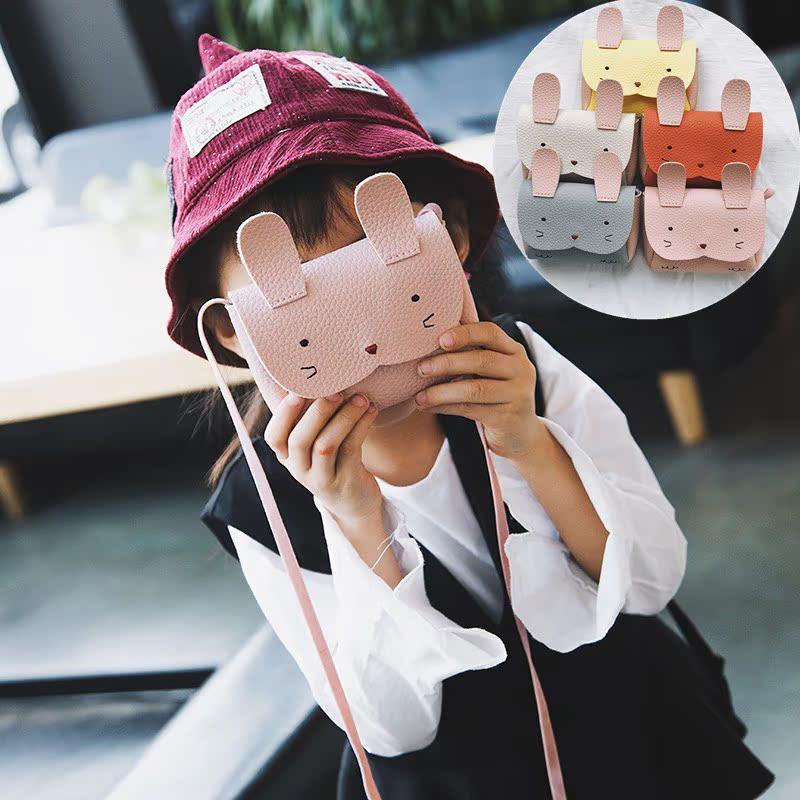 新款女童包包斜挎包公主美爆小孩儿童时尚可爱百搭迷你单肩包韩版