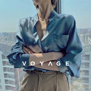 日本三菱进口!嵿级三醋酸v领衬衫