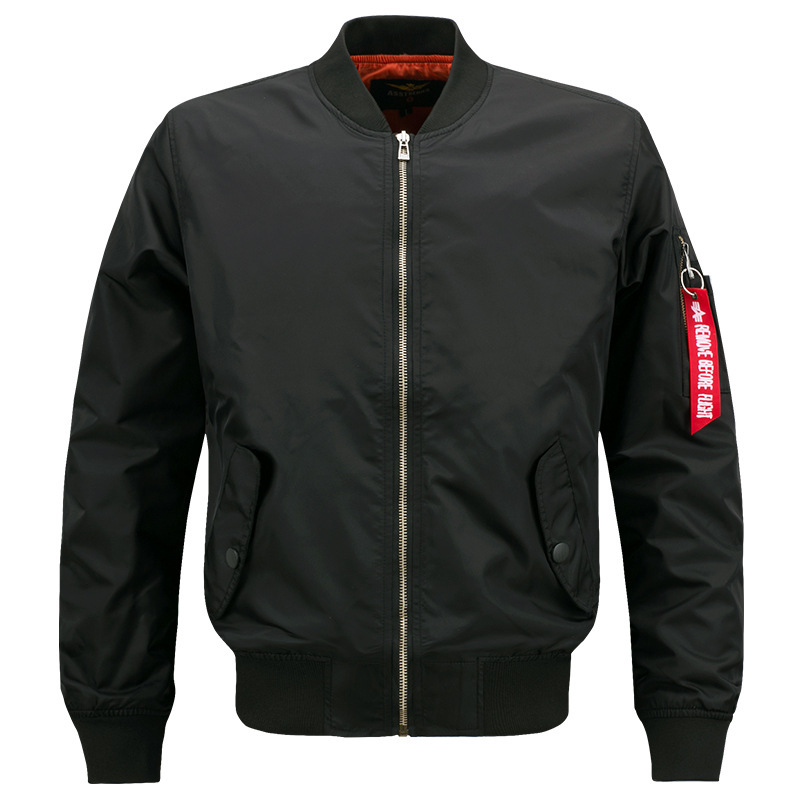 Sports leisure stand collar jacket air force No.1 ma01 pilot mens Baseball Shirt spring and autumn mens wear