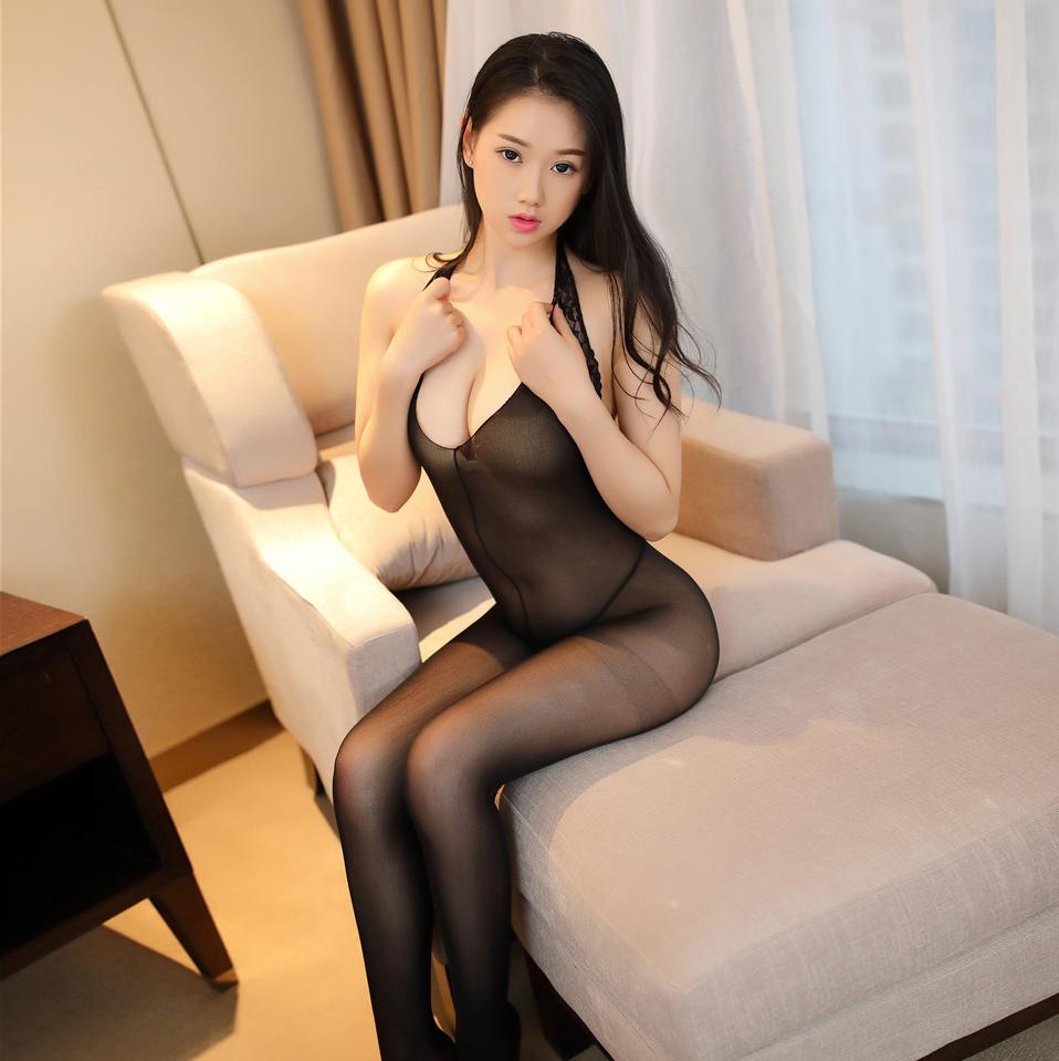 性感情趣内衣开裆露乳诱惑女式骚激情套装蕾丝吊带丝袜连身连裤袜