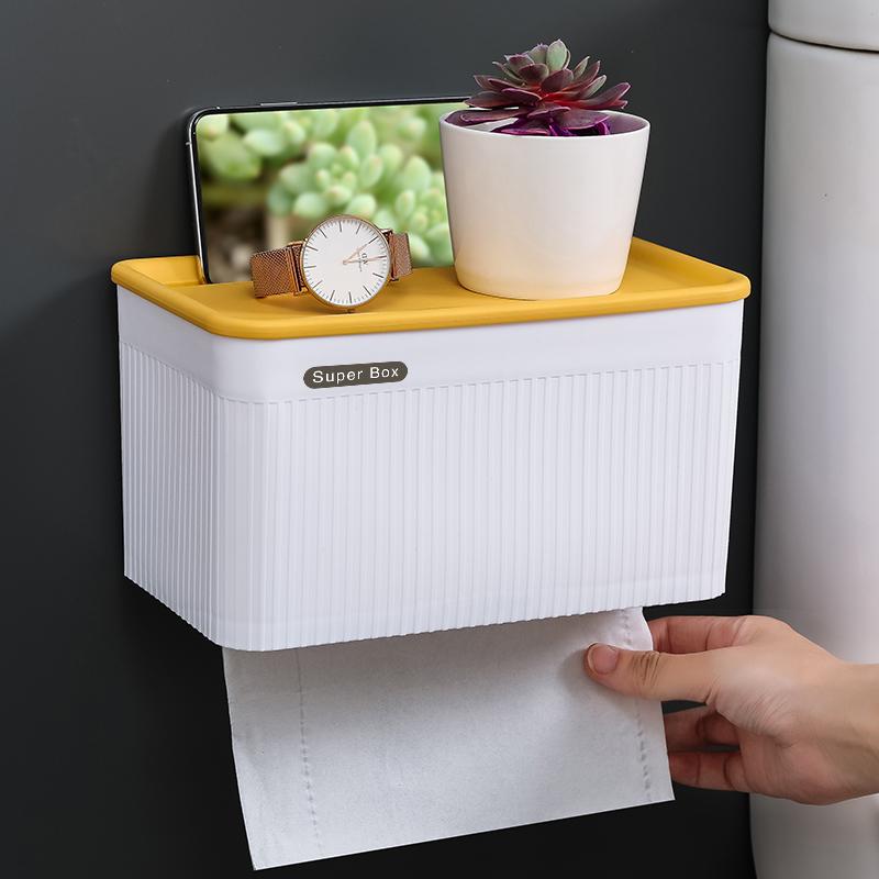 壁挂多功能卫生间厕所卷纸纸巾盒(非品牌)