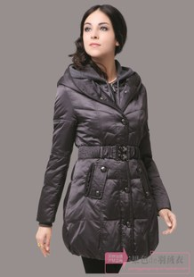 John still Discounted winter new Women Korean Slim double cap semi finished leather clothing jacket 1190