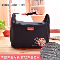 Compared to rabbit Inverness wind insulation bag portable insulation lunch box bag bento Bag bento bag small bag handbag