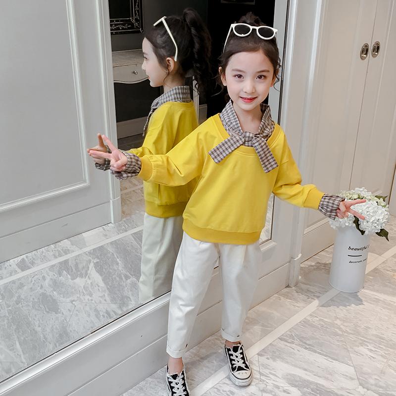 2020年中大童领结套装春秋套装14岁套头5岁B类中国大陆
