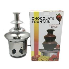 电加热小型三层巧克力喷泉机朱古力融浆机商用活动家庭派对专用