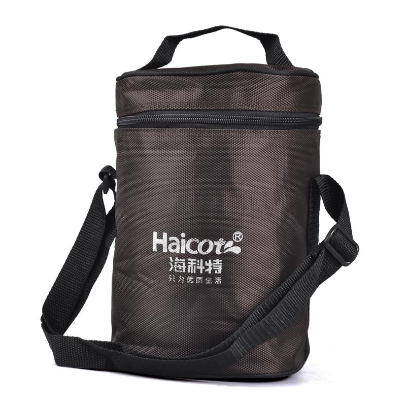 加厚保温饭盒袋便当包方圆形便携带饭包手提饭盒包保温桶袋子