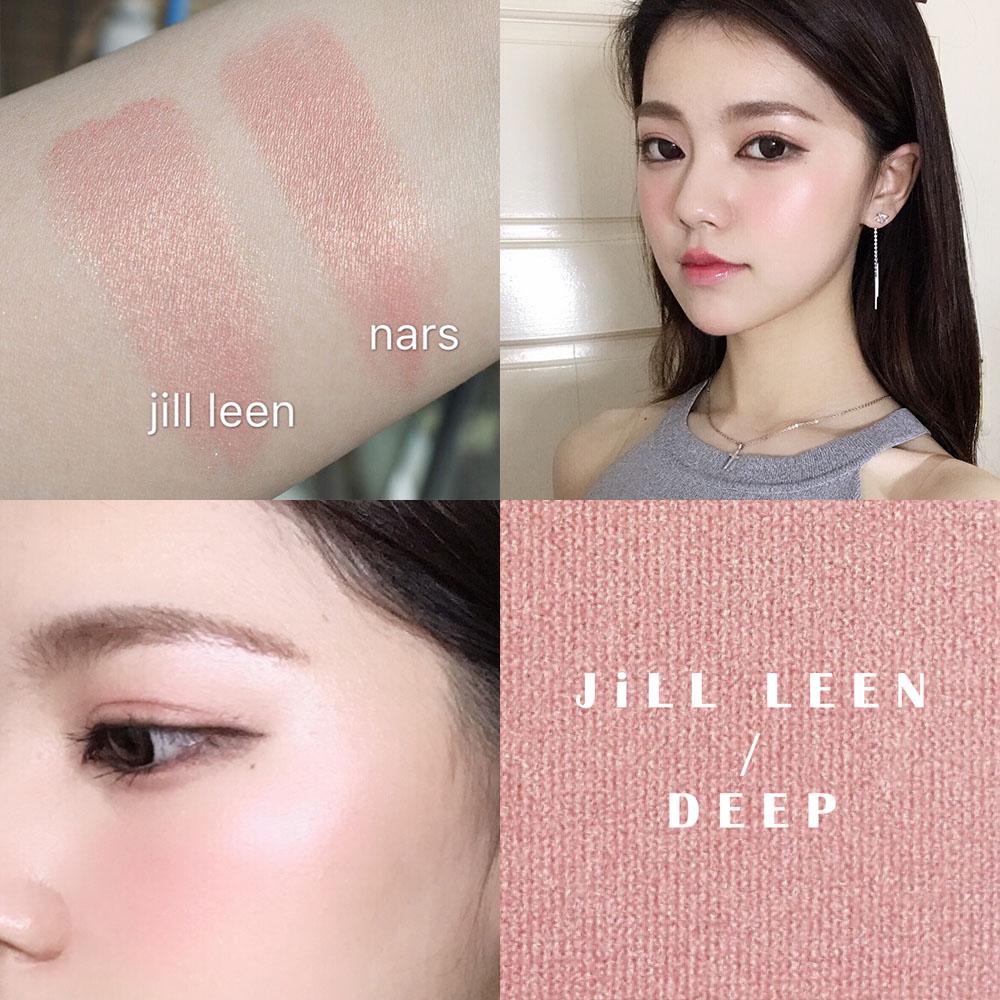 JILL LEEN炫色腮红 玫瑰柔粉色DEEP 深喉平价替代