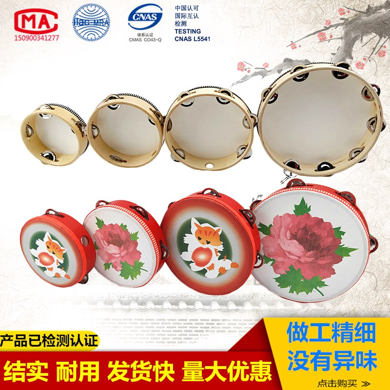 Childrens dance, tambourine, Orff, professional percussion instrument, clapping, ringing, drum, kindergarten teachers tambourine