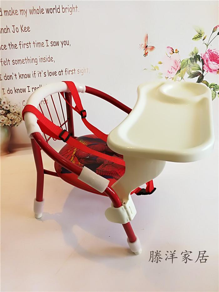 人氣兒童椅子坐椅叫叫餐椅靠背椅卡通小板凳餐盤寶寶小凳子包郵