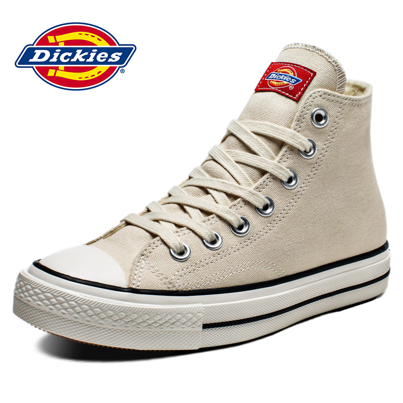 Dickies women's shoes 2020 new spring high top canvas shoes for female students to wear casual couple shoes
