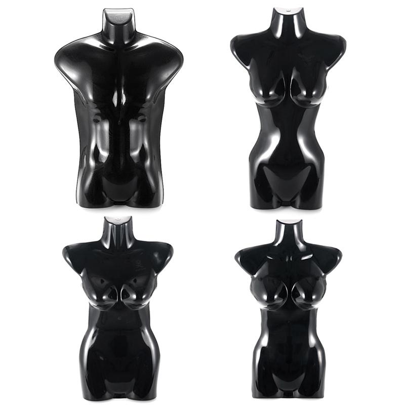 包邮半身模特悬挂衣架男女儿童胸片服装店模特道具挂板塑料模特片