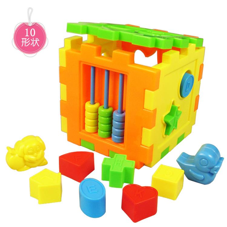 Ребенок коробка форма пара строительные блоки 1 для 3 лет ребенок интеллект коробка познавательный коробка обучения в раннем возрасте головоломка игрушка