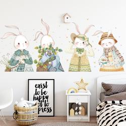 女生床头背景墙壁纸墙纸自粘卧室温馨墙面装饰贴纸墙贴画房间布置