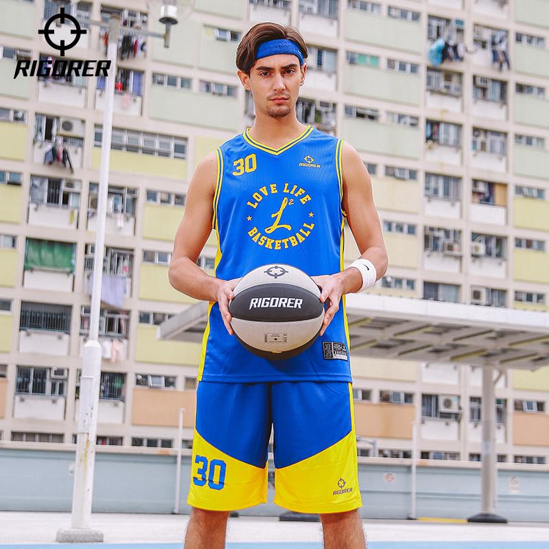 准者新款篮球服套装青少年学生比赛训练团队个性DIY定制运动套装(用10元券)