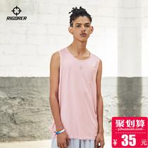 准者运动背心男女夏季潮流时尚无袖上衣跑步运动休闲衫篮球文化衫