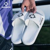 准者运动拖鞋男女2021新款外穿魔术贴防滑情侣沙滩浴室网红凉拖鞋