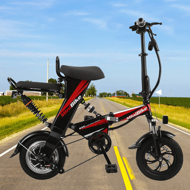 12 inch folding electric bicycle - lithium battery electric bicycle folding electric bicycle