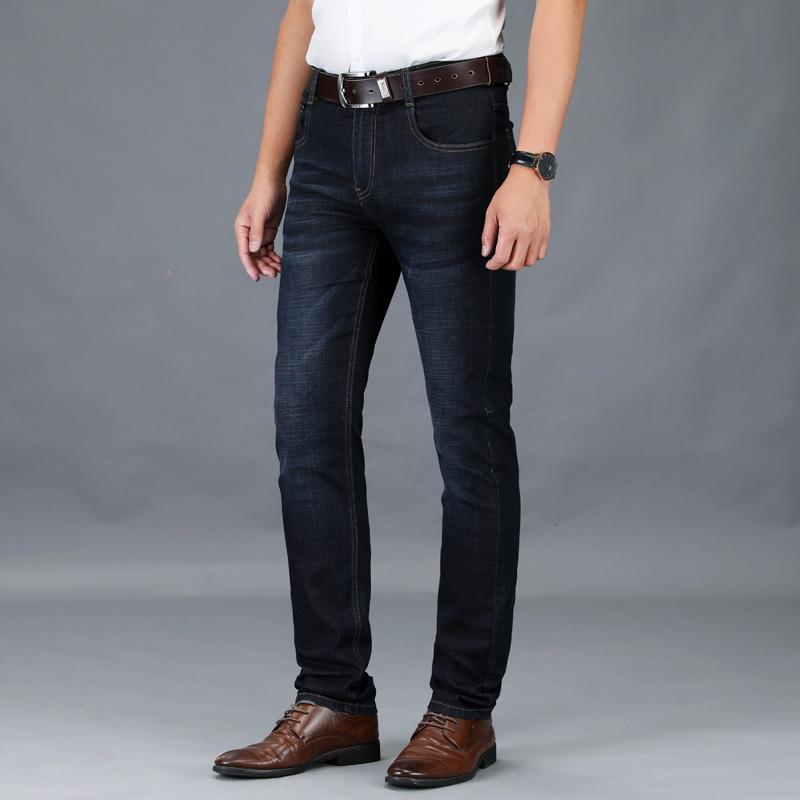 春夏牛仔裤男美国苹果宽松直筒长裤正品薄款夏季品牌爸爸装大码40