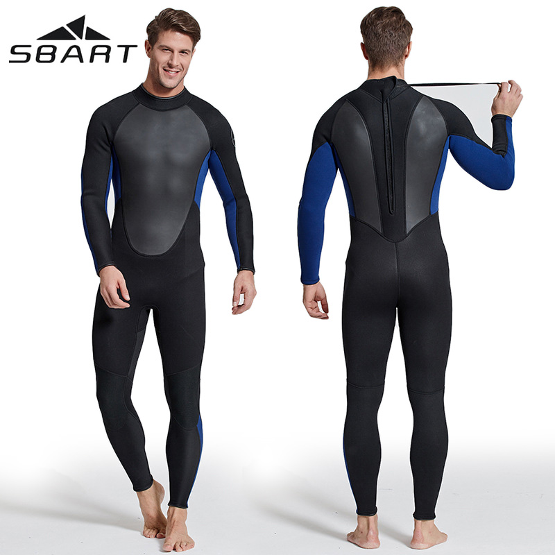 Diving suit mens professional deep diving suit Triathlon swimming gel coat warm and cold proof wet suit 3mm