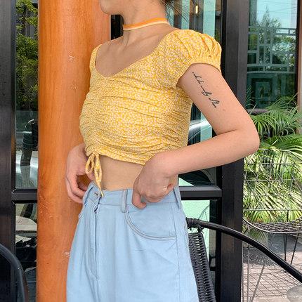 你米one umii短袖2019新款夏季衬衫