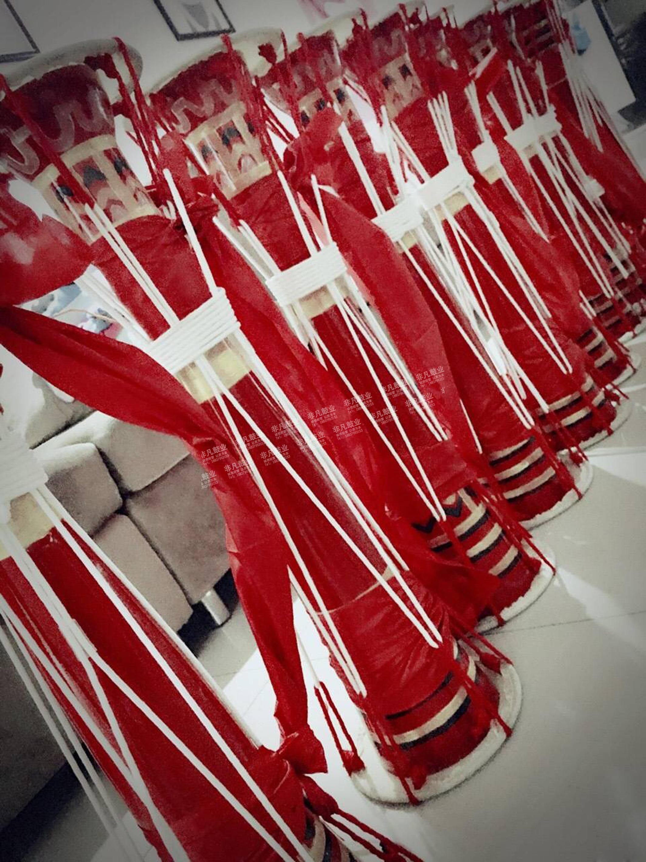 [瑶族拉绳长鼓原生态] стиль [连南瑶族实木] кожаный [长鼓] красный [瑶族大瑶族舞蹈鼓]