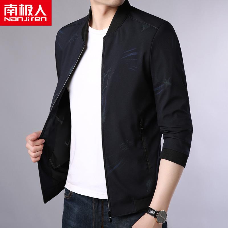 Южный полюс человек пальто мужской весна 2018 новый корейская волна струиться тонкий красивый тонкая модель куртка бейсбольная форма мужской