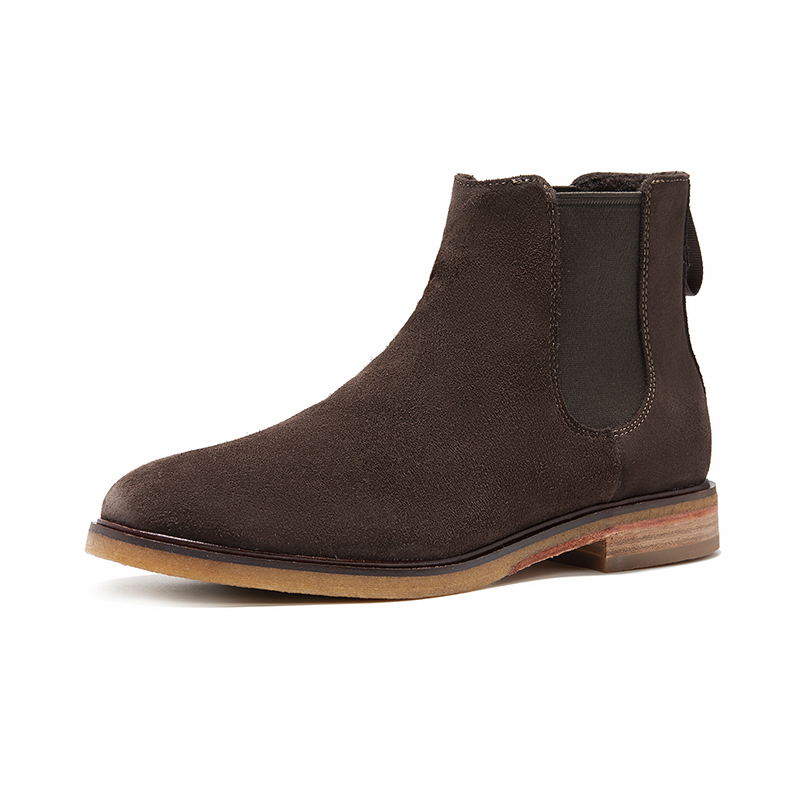 Clarks men's shoes Clarkdale gohot spring trend Boots Men's British Chelsea Boots Leather Boots Men's