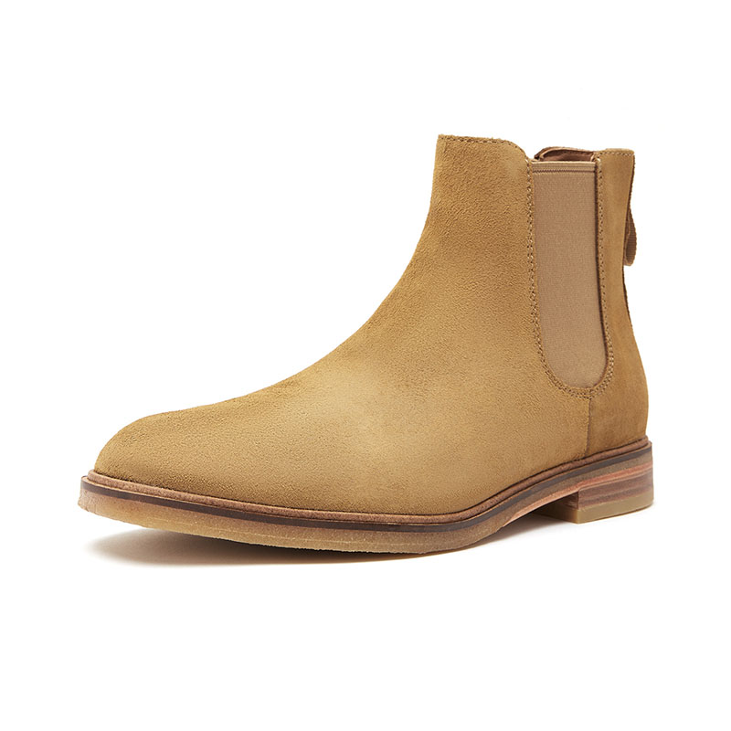 Clarks its music men's shoes classic retro British style Chelsea boots